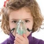 asthmatic child